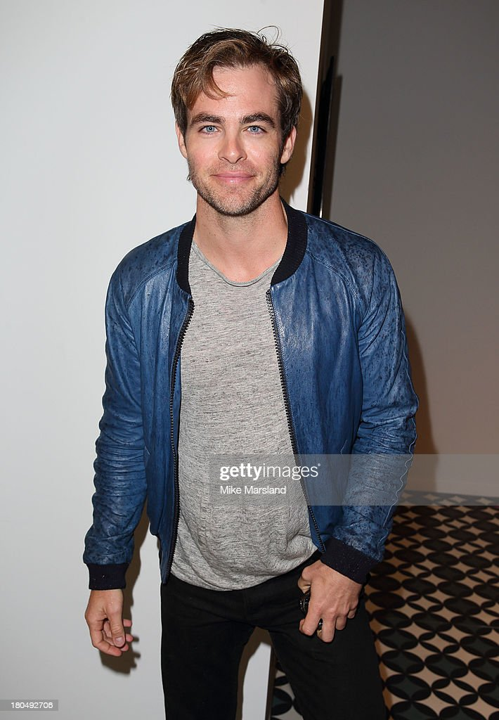 <a gi-track='captionPersonalityLinkClicked' href=/galleries/search?phrase=Chris+Pine&family=editorial&specificpeople=641995 ng-click='$event.stopPropagation()'>Chris Pine</a> attends the PPQ show during London Fashion Week SS14 at BFC Courtyard Showspace on September 13, 2013 in London, England.