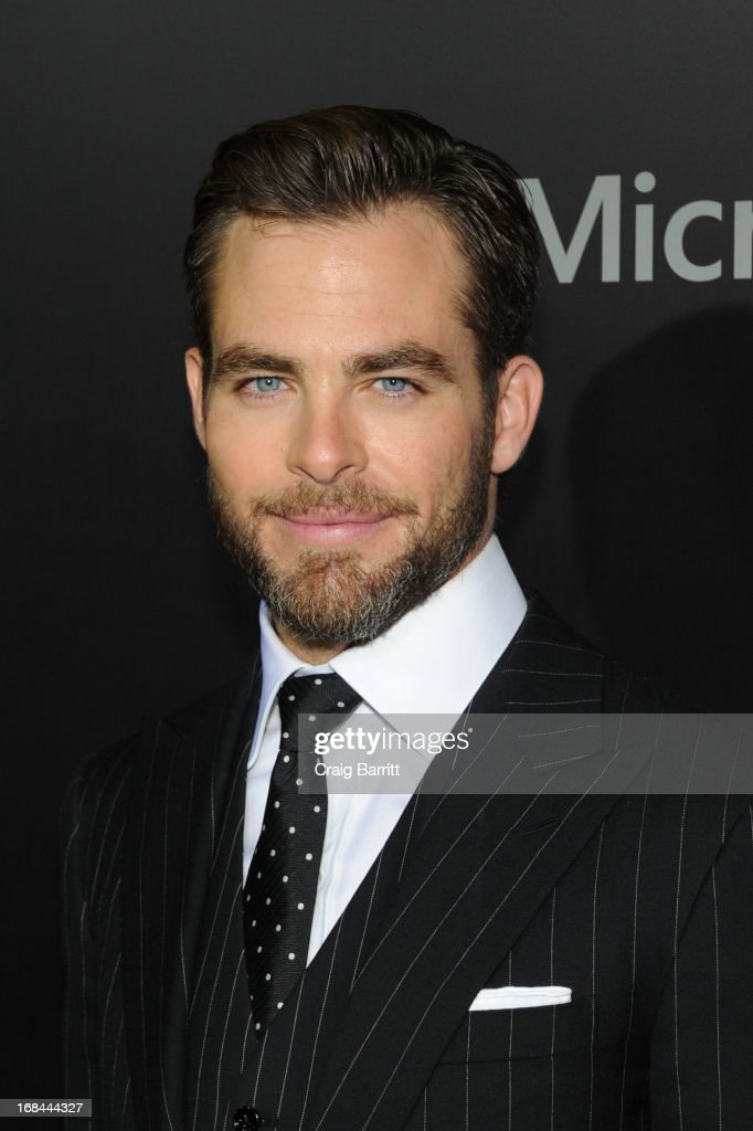 Chris Pine attends the 'Star Trek Into Darkness' New York Special Screening at AMC Loews Lincoln Square on May 9, 2013 in New York City.