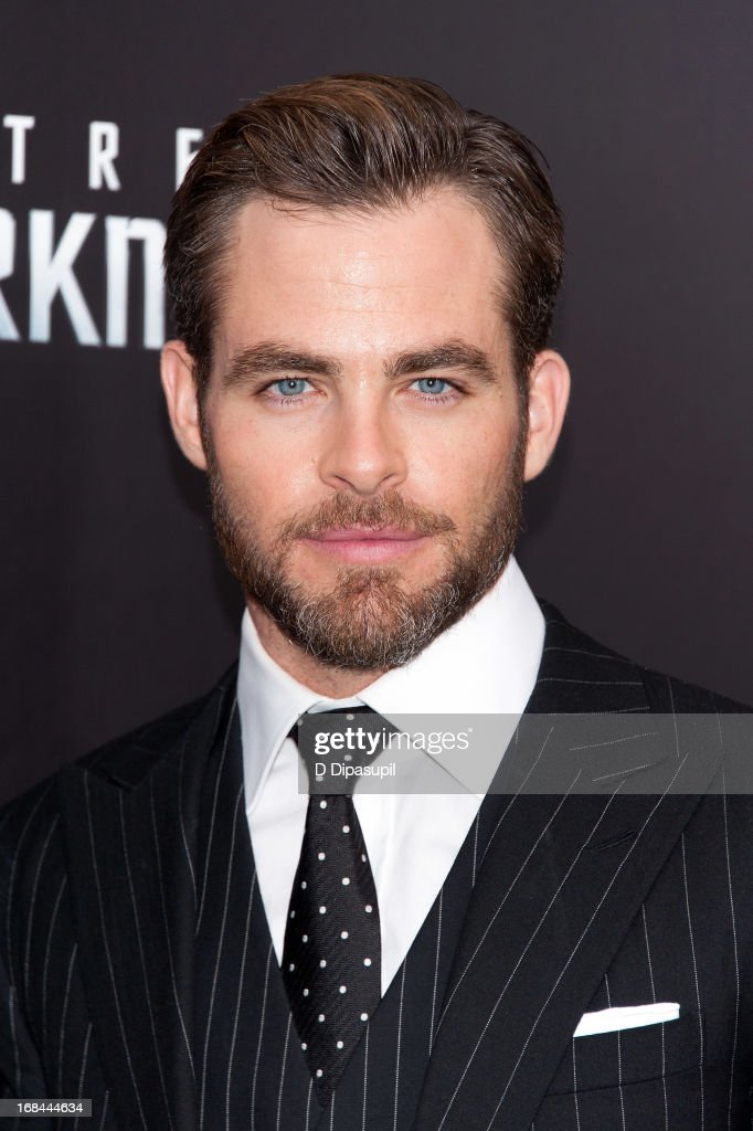 Chris Pine attends the 'Star Trek Into Darkness' screening at AMC Loews Lincoln Square on May 9, 2013 in New York City.