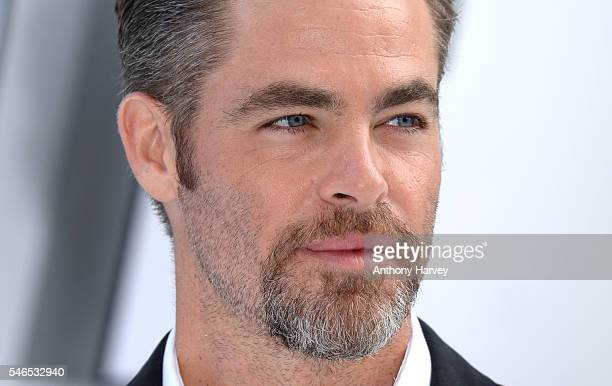 Chris Pine attends the UK premiere of 'Star Trek Beyond' on July 12 2016 in London United Kingdom