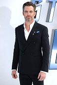 Chris Pine attends the UK premiere of 'Star Trek Beyond' on July 12 2016 in London United Kingdom