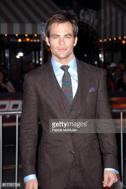 Chris Pine attends UNSTOPPABLE World Premiere at Regency Village Theatre on October 26 2010 in Westwood California