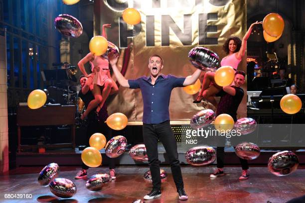 LIVE 'Chris Pine' Episode 1723 Pictured Chris Pine during the Opening Monologue in studio 8H on May 6 2017