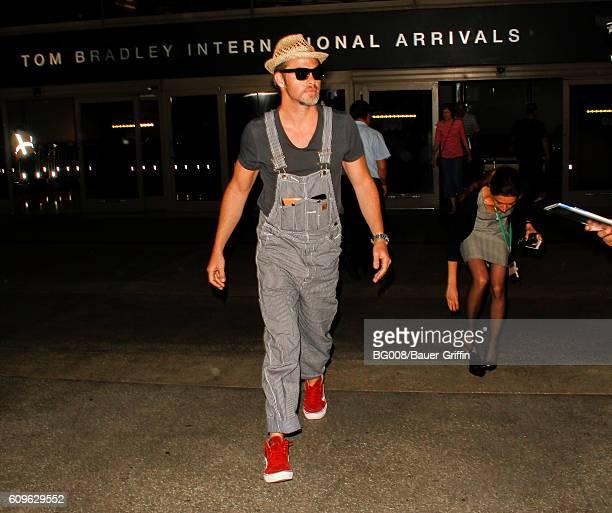 Chris Pine is seen on September 21 2016 in Los Angeles California