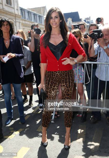 Chris Pitanguy attends the Jean Paul Gaultier Haute Couture Fall/Winter 20172018 show as part of Haute Couture Paris Fashion Wee on July 5 2017 in...