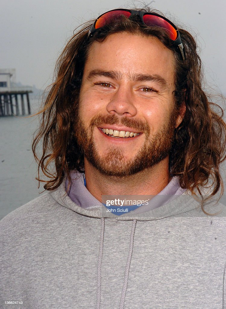 Chris Pontius during Rip Curl Presents 'Sand & Glam' Benefitting Heal the Bay - Celebrity Surfing Competition at Malibu Surfrider Point in Malibu, California, United States.