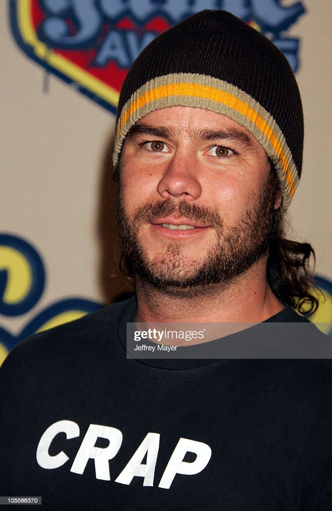 <a gi-track='captionPersonalityLinkClicked' href=/galleries/search?phrase=Chris+Pontius&family=editorial&specificpeople=595627 ng-click='$event.stopPropagation()'>Chris Pontius</a> during Spike TV Video Game Awards 2004 - Arrivals at Barker Hangar in Santa Monica, California, United States.