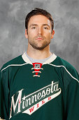 Chris Porter of the Minnesota Wild poses for his headshot prior to the game against the St Louis Blues on October 10 2015 at the Xcel Energy Center...