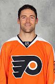 Chris Porter of the Philadelphia Flyers poses for his official headshot for the 20152016 season on September 18 2015 at the Virtua Flyers Skate Zone...