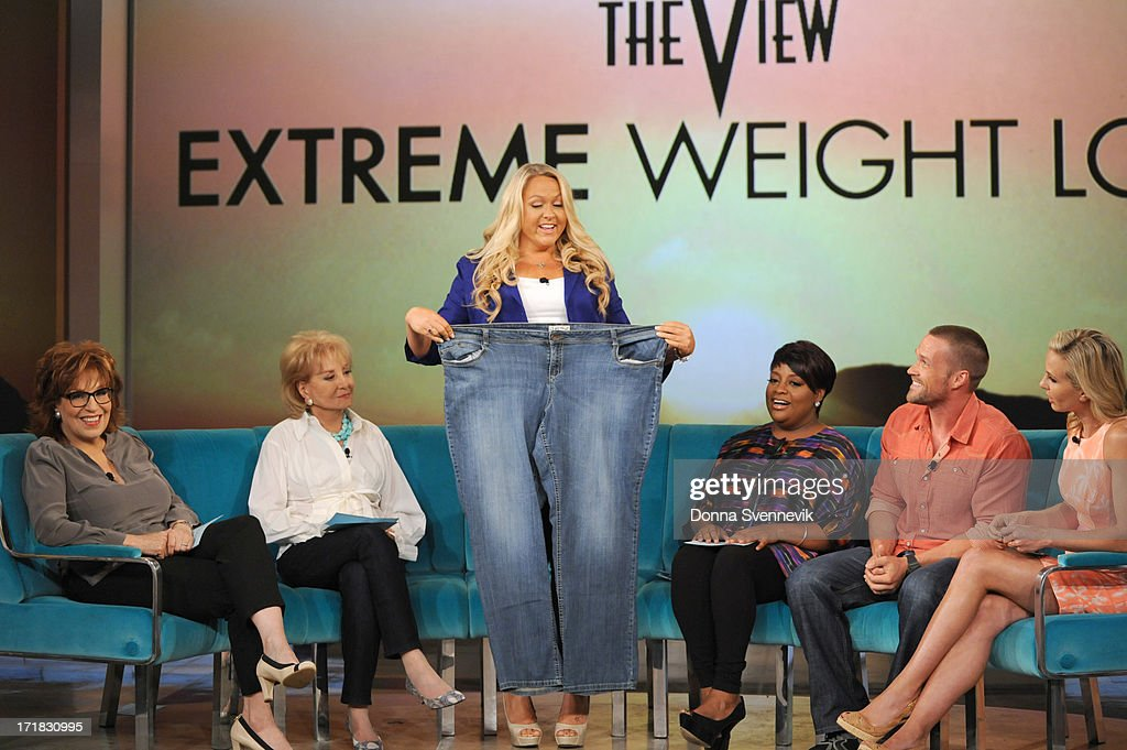 THE VIEW - Chris Powell guest co-hosts a theme show dedicated to ABC's 'Extreme Weight Loss' highlighting four courageous individuals and their journeys of transformation on Monday, July 1, 2013 on ABC's 'The View.' 'The View' airs Monday-Friday (11:00 am-12:00 pm, ET) on the ABC Television Network. HASSELBECK