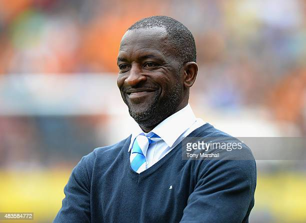 Chris Powell Manager of Huddersfield Town during the Sky Bet Championship match between Hull City and Huddersfield Town at KC Stadium on August 8...