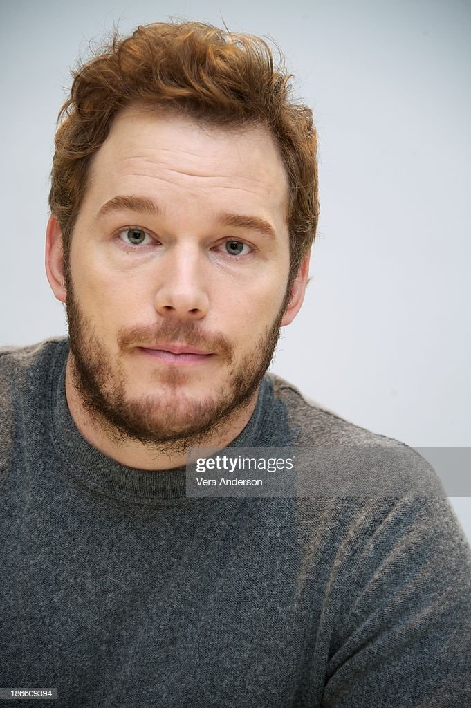 <a gi-track='captionPersonalityLinkClicked' href=/galleries/search?phrase=Chris+Pratt+-+Actor&family=editorial&specificpeople=239084 ng-click='$event.stopPropagation()'>Chris Pratt</a> at the 'Delivery Man' Press Conference at the Four Seasons Hotel on November 1, 2013 in Beverly Hills City.