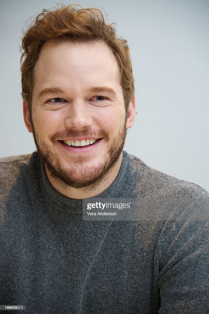 Chris Pratt at the 'Delivery Man' Press Conference at the Four Seasons Hotel on November 1 2013 in Beverly Hills City