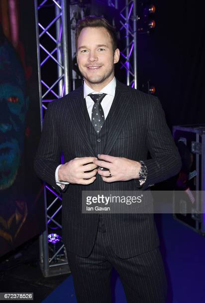 Chris Pratt attends the European launch event of Marvel Studios' 'Guardians of the Galaxy Vol 2' at the Eventim Apollo on April 24 2017 in London...