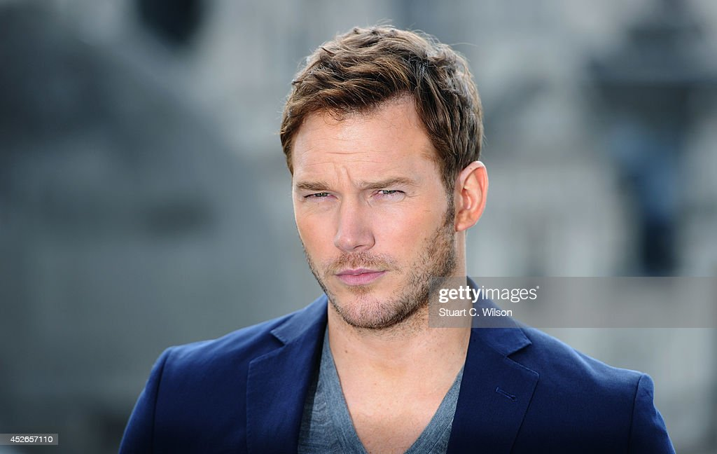 <a gi-track='captionPersonalityLinkClicked' href=/galleries/search?phrase=Chris+Pratt+-+Actor&family=editorial&specificpeople=239084 ng-click='$event.stopPropagation()'>Chris Pratt</a> attends the 'Guardians of the Galacy' photocall on July 25, 2014 in London, England.