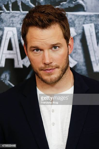 Chris Pratt attends the 'Jurassic World' Photocall on June 01 2015 in Berlin Germany