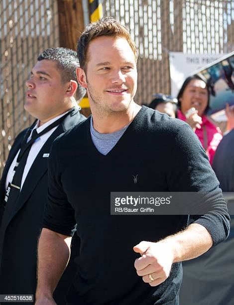 Chris Pratt is seen on July 21 2014 in Los Angeles California