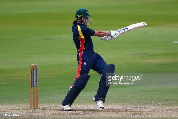 Chris Read of MCC hits out during the MCC v Afghanistan cricket match at Lord's Cricket Ground on July 11 2017 in London England