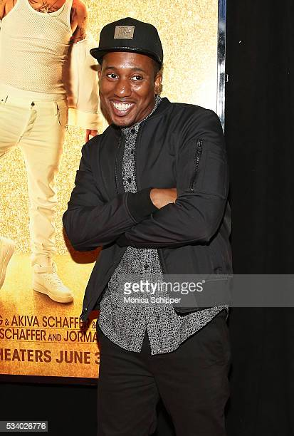 Chris Redd attends 'Popstar Never Stop Never Stopping' New York Premiere at AMC Loews Lincoln Square 13 theater on May 24 2016 in New York City
