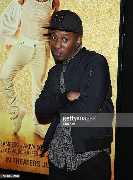 Chris Redd attends the New York Premiere of 'Popstar Never Stop Never Stopping' at AMC Loews Lincoln Square 13 theater on May 24 2016 in New York City