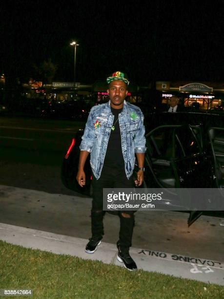 Chris Redd is seen on August 24 2017 in Los Angeles California