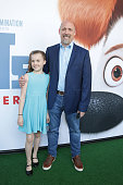 Chris Renaud and daughter attend Universal Pictures and Illumination Entertainment Present the Premiere of THE SECRET LIFE OF PETS at David H Koch...