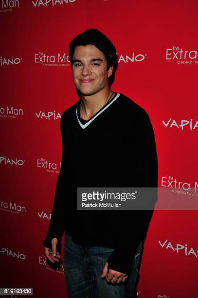 Chris Riggi attends Vapiano hosts the New York Premiere of THE EXTRA MAN red carpet arrivals and afterparty at Village East Cinema and Vapiano NYC on...