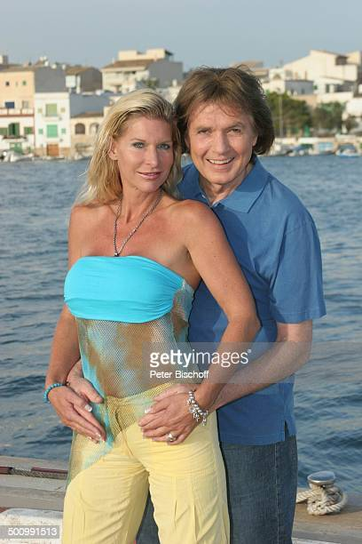 Chris Roberts Ehefrau Claudia Roberts Urlaub Puerto Colom/Mallorca/Spanien Balearen Hafen Meer Sänger Sängerin Ehemann Familie Schlagersänger...
