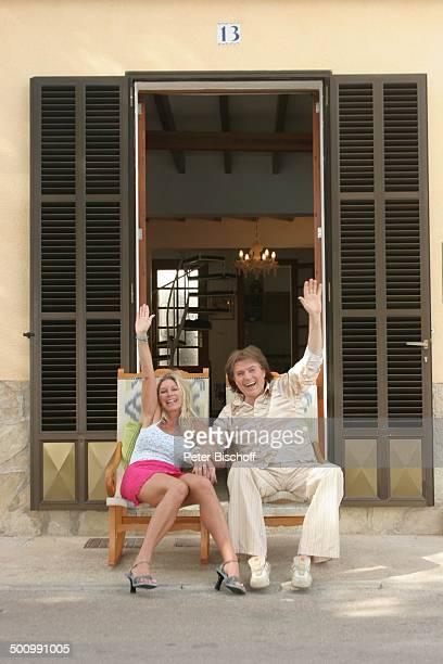 Chris Roberts Ehefrau Claudia Roberts Urlaub Puerto Colom/Mallorca/Spanien Balearen Appartement Sänger Sängerin Ehemann Familie Schlagersänger...