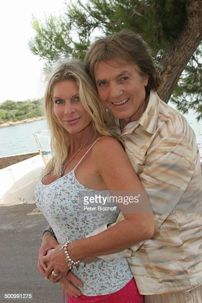 Chris Roberts Ehefrau Claudia Roberts Urlaub Puerto Colom/Mallorca/Spanien Balearen Mittelmeer Sänger Sängerin Ehemann Familie Schlagersänger...