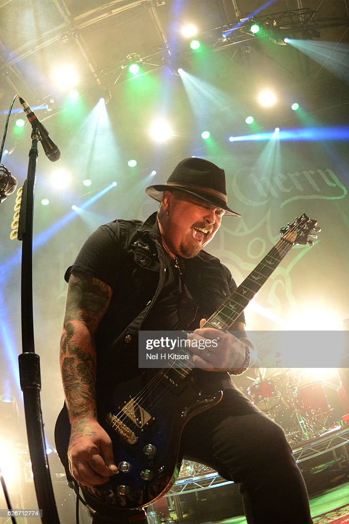 Chris Robertson of Black Stone Cherry perform at Sheffield City Hall on November 28, 2016 in Sheffield, England.