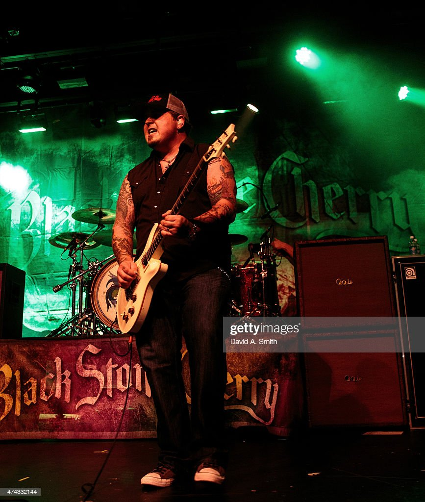 Chris Robertson of Black Stone Cherry performs at Iron City on May 21, 2015 in Birmingham, Alabama.