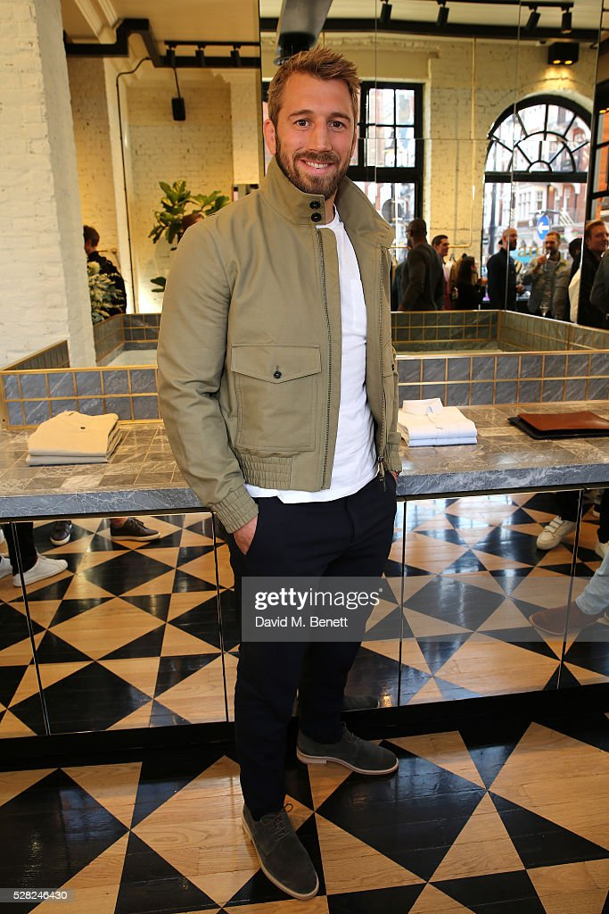 <a gi-track='captionPersonalityLinkClicked' href=/galleries/search?phrase=Chris+Robshaw&family=editorial&specificpeople=2375303 ng-click='$event.stopPropagation()'>Chris Robshaw</a> attends Ami Mayfair Store Opening on May 4, 2016 in London, England.