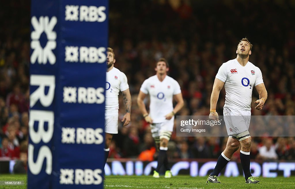 <a gi-track='captionPersonalityLinkClicked' href=/galleries/search?phrase=Chris+Robshaw&family=editorial&specificpeople=2375303 ng-click='$event.stopPropagation()'>Chris Robshaw</a> of England looks up during the RBS Six Nations match between Wales and England at Millennium Stadium on March 16, 2013 in Cardiff, Wales.