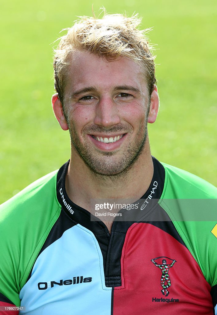 <a gi-track='captionPersonalityLinkClicked' href=/galleries/search?phrase=Chris+Robshaw&family=editorial&specificpeople=2375303 ng-click='$event.stopPropagation()'>Chris Robshaw</a> of Harlequins poses for a portrait at the Surrey Sports Park on August 19, 2013 in Guildford, England.