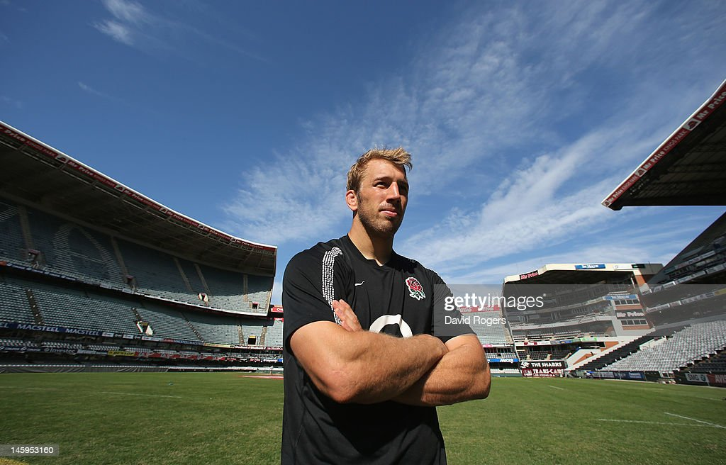 <a gi-track='captionPersonalityLinkClicked' href=/galleries/search?phrase=Chris+Robshaw&family=editorial&specificpeople=2375303 ng-click='$event.stopPropagation()'>Chris Robshaw</a>, the England captain poses after the England captain's run at Kings Park Stadium on June 8, 2012 in Durban, South Africa.