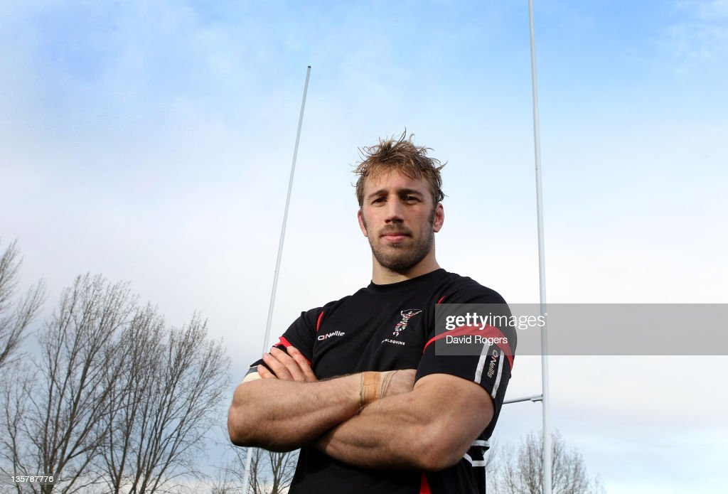 Chris Robshaw the Harlequins captain poses after the Harlequins training session held at the University of Surrey Sports Ground on December 14 2011...