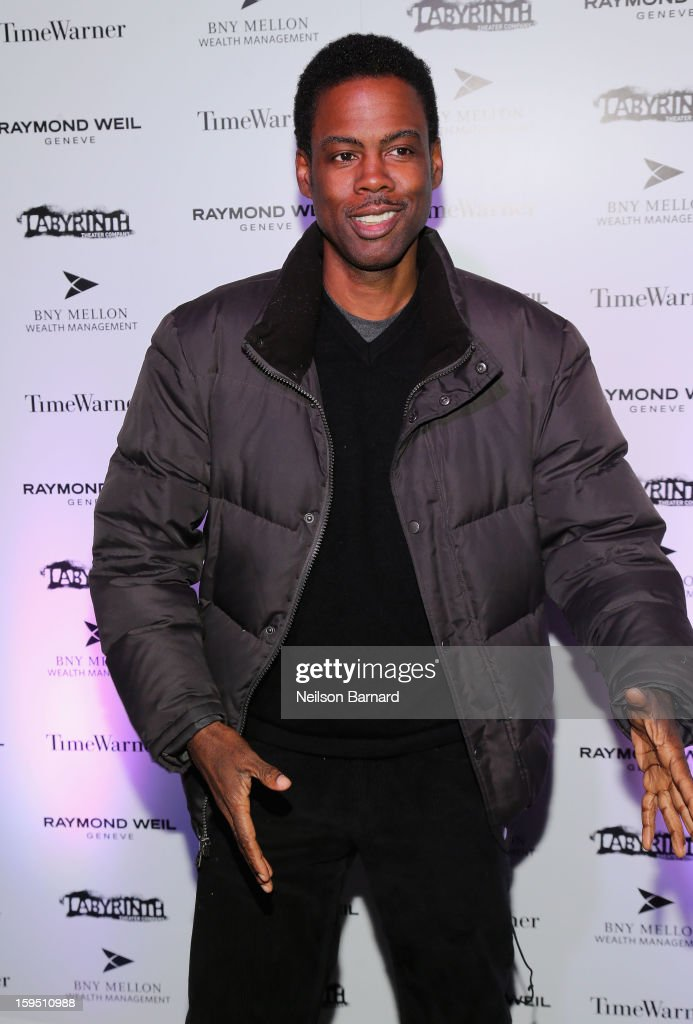 Chris Rock attends LAByrinth Theater Company Celebrity Charades 2013 Benefit Gala at Capitale on January 14, 2013 in New York City.