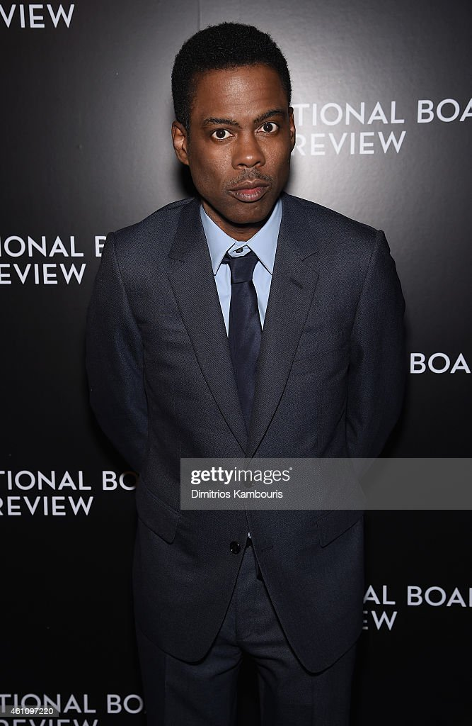 <a gi-track='captionPersonalityLinkClicked' href=/galleries/search?phrase=Chris+Rock&family=editorial&specificpeople=202982 ng-click='$event.stopPropagation()'>Chris Rock</a> attends the 2014 National Board of Review Gala at Cipriani 42nd Street on January 6, 2015 in New York City.