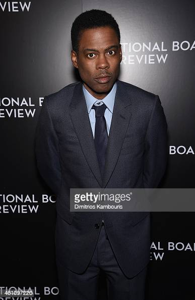 Chris Rock attends the 2014 National Board of Review Gala at Cipriani 42nd Street on January 6 2015 in New York City