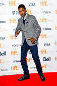 Chris Rock attends the premiere of 'Top Five' at the Toronto International Film Festival at Princess of Wales Theatre on September 6 2014 in Toronto...