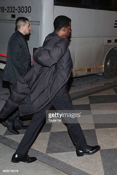 Chris Rock attends the Saturday Night Live 40th Anniversary Celebration After Party at The Plaza Hotel on February 15 2015 in New York City
