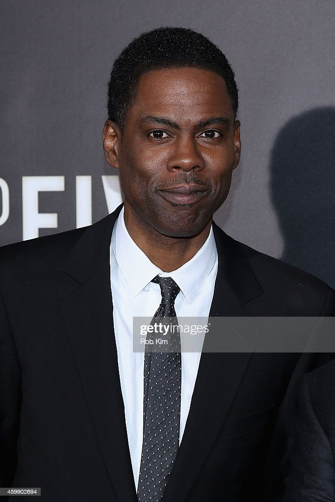Chris Rock attends the 'Top Five' New York Premiere at Ziegfeld Theater on December 3, 2014 in New York City.