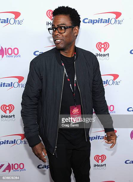 Chris Rock attends Z100's Jingle Ball 2016 at Madison Square Garden on December 9 2016 in New York City