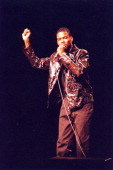 Chris Rock during 1997 Chris Rock Live at Universal Studios in Hollywood California United States