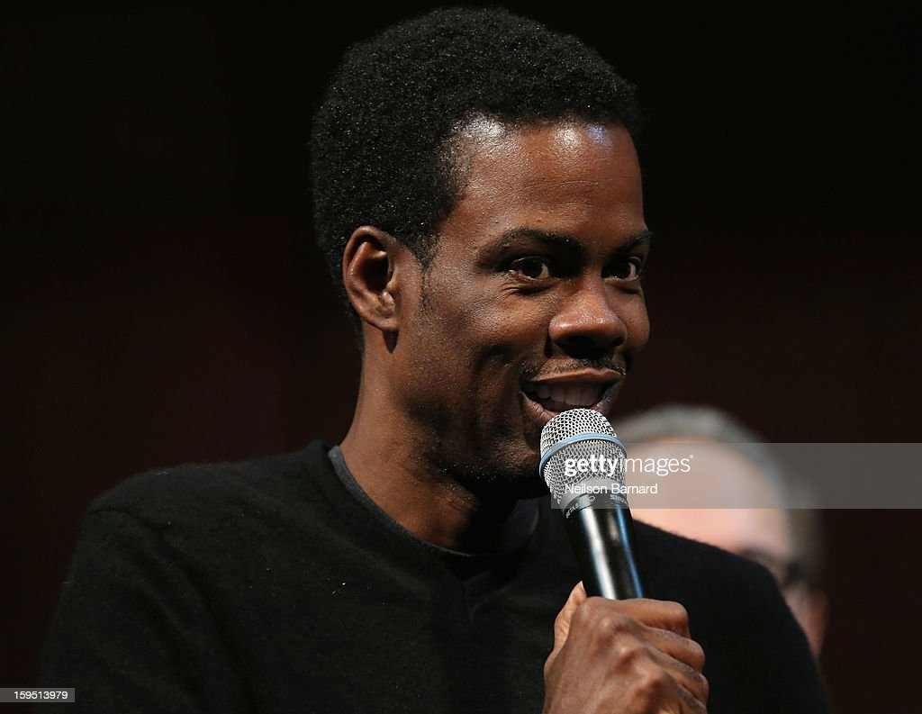 Chris Rock onstage at LAByrinth Theater Company Celebrity Charades 2013 Benefit Gala at Capitale on January 14, 2013 in New York City.