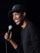 Chris Rock performs at The Stress Factory Comedy Club on April 18 2014 in New Brunswick New Jersey