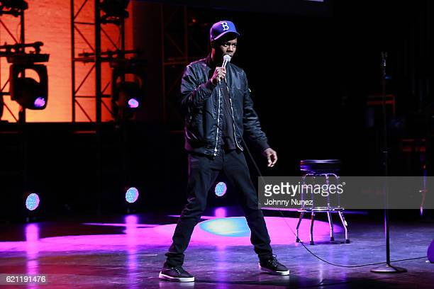 Chris Rock performs during The Hannibal Montanabal Experience at The Apollo Theater on November 4 2016 in New York City