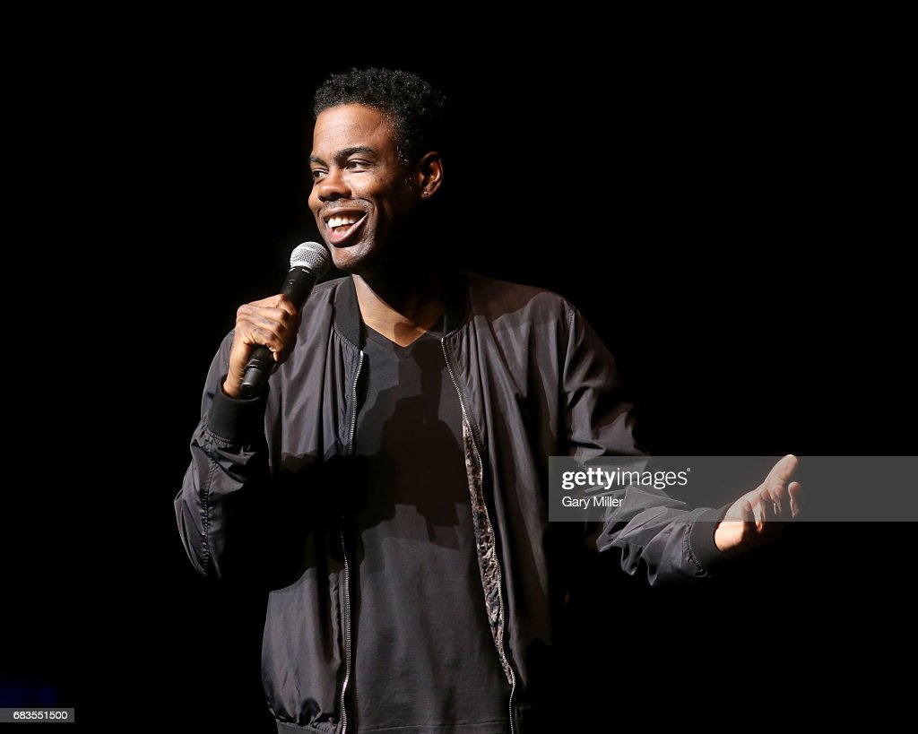 Chris Rock performs in concert during his 'Total Blackout' tour at The Bass Concert Hall on May 15, 2017 in Austin, Texas.