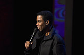 Chris Rock performs onstage at Comedy Central Night Of Too Many Stars at Beacon Theatre on February 28 2015 in New York City